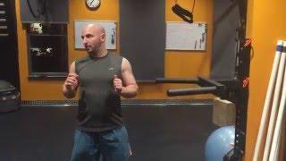 Technique on the Rogue Matador Dip exercise