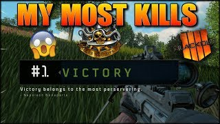 DID I BEAT MY HIGHEST SOLO KILLS GAME?! 22 TO BEAT! COD BLACKOUT BATTLE ROYALE!