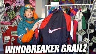 Huge Windbreaker Haul! Nike, Nautica, Columbia, Starter, and Mo Jackets!