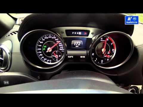 2014 Mercedes-Benz SL 65 AMG  0-300 km/h kph Beschleunigung Tachovideo 0-186 mph acceleration