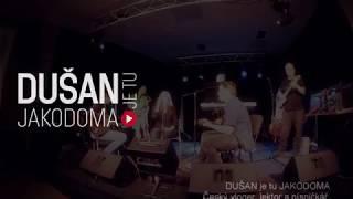 Dušanův 48. narozeninový večer a první narozeniny kapely JAKODOMA proběhly skvěle.