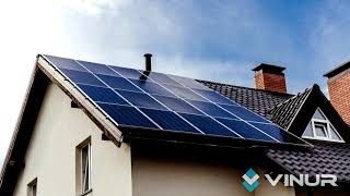 """Гибридная солнечная электростанция мощностью 4 кВт под """"Зеленый тариф"""""""