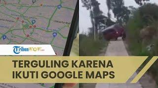 Mobil Ini Tersesat dan Terguling karena Ikuti Google Maps, Begini Kata Head of Safety Riding