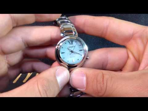 Dos relojes Citizen Eco Drive para mujer EM0335-51D y EM0331-52D