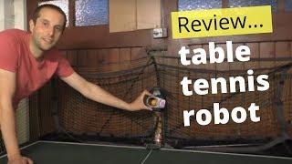 Can a table tennis robot help you improve?