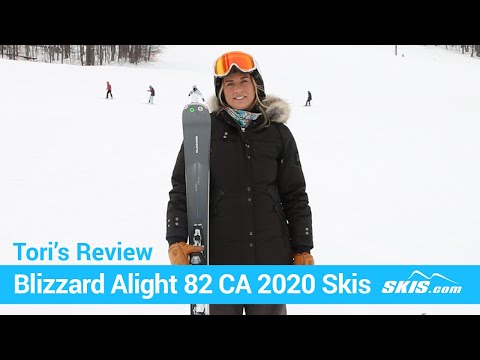 Video: Blizzard Alight 82 CA Skis 2020 21 50