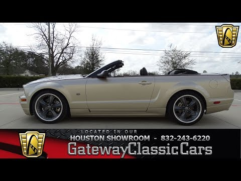 Video of 2008 Mustang - $24,995.00 Offered by Gateway Classic Cars - Houston - MZGA