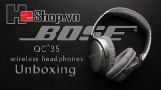 H2shop Unboxing Heaphone Bose QC35