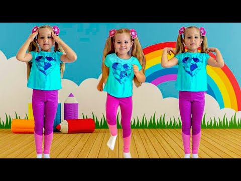 Download Diana Exercises and learns the English Alphabet - Kids Learning Videos Mp4 HD Video and MP3