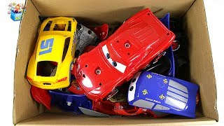 disney pixar cars city Vehicle friend's full Box Play toys funny video for kids
