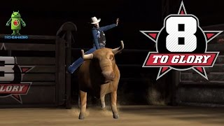 8 TO GLORY BULL RIDING (iOS / Android) Gameplay HD