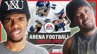 THIS AIN'T THE NFL BABY! - Arena Football Road to Glory Gameplay   #ThrowbackThursday