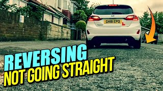 Reversing Not Going Straight - How to Correct / Driving Lesson