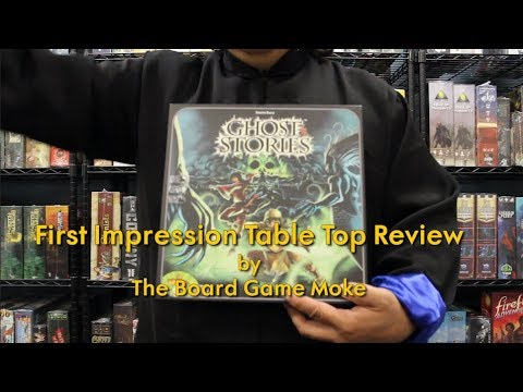 First Impression Table Top Review: Ghost Stories