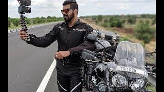 HYDERABAD TO LADAKH on Triumph Tiger | DAY 2 | Nagpur to Sagar