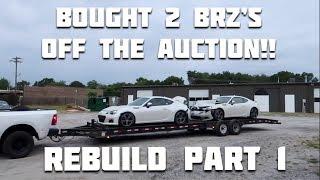 Rebuilding a Wrecked 2016 Subaru BRZ