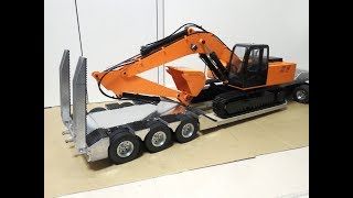 タミヤ トレーラー 3軸低床トレーラー制作
