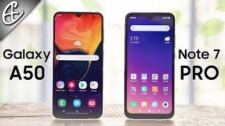 Redmi Note 7 Pro vs Samsung Galaxy A50 - Exynos 9610 Faster Than Snapdragon 675 ?
