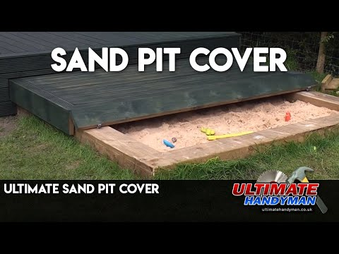 ultimate sand pit cover