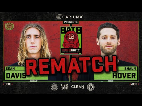 BATB 12: Sean Davis Vs. Shaun Hover REMATCH - Round 1