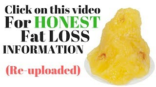 Calorie Deficit For Fat Loss (Re-Uploaded)