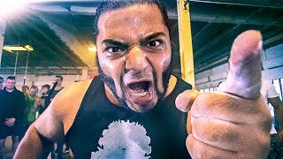 120kg STRONGMAN vs 80kg POWERBUILDER - Patrik Baboumian VS Koray - Strength Wars League 2k17 #2