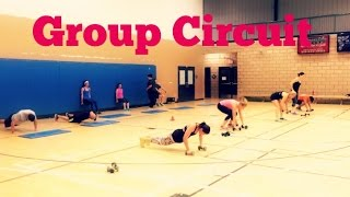 Advanced Full Body Circuit  - Group Training Ideas