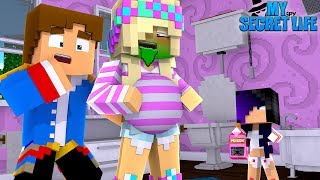 LITTLE DONNY'S EVIL DAUGHTER WANTS TO KILL PREGNANT LEAH!! Minecraft Adventure - Video Youtube