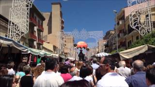 preview picture of video 'Festa San Calogero   Naro 18 giugno 2014'