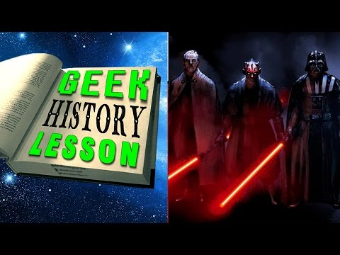 History of the Sith (Star Wars) - Geek History Lesson