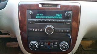 Desbloquear estereo Chevrolet