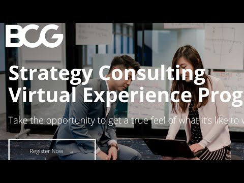 BCG FREE Certificate on Strategy Consulting. Must enroll for MBAs ...