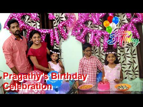 Pragathy's Birthday Celebrations | Tamil Kids Birthday Celebration | Kuttys Channel Tamil