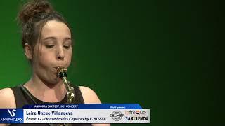 Leire Unzue Villanueva plays Étude 12 – Douze Études Caprices by Eugène BOZZA