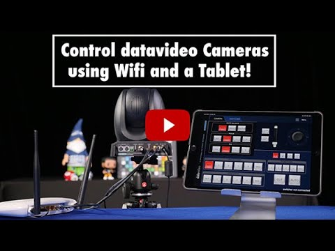 How to: Wireless Camera Control - Datavideo