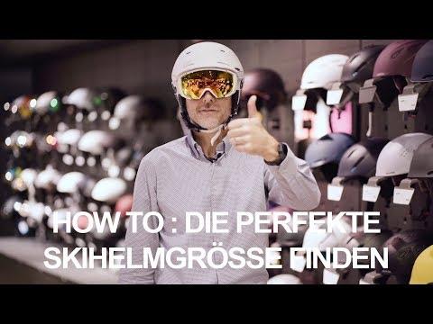 How to: Den perfekten Skihelm finden