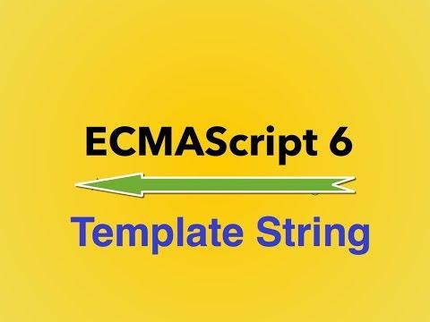 10-  ES6||  Template String