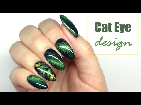 Cat Eye Design - Nail Art Tutorial || My Wonderland