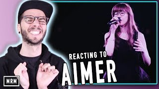 REACTING TO AIMER!!