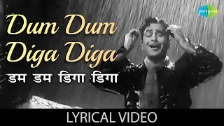 Dum Dum Diga Diga with lyrics | डम डम   - YouTube