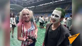 Фанаты на концерте Thirty Seconds to Mars в Астане