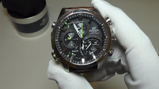 Casio Edifice Bluetooth EQB500D-1A Watch Review