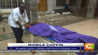 5 Killed In Road Crash Along Nakuru-Nairobi Highway