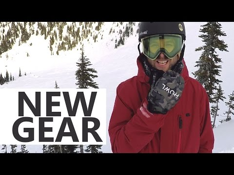 Snowboard Gear Update – Volcom Jacket, Howl Mittens, Gnarly Facemask, Electric Goggles
