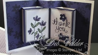 How To Create a Pop Up Book Card with Deb Valder