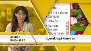 Programajánló / TV Szentendre / 2018.05.31.