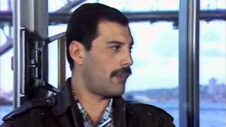 Freddie Mercury-Interview in Sydney 1985 (1080p)