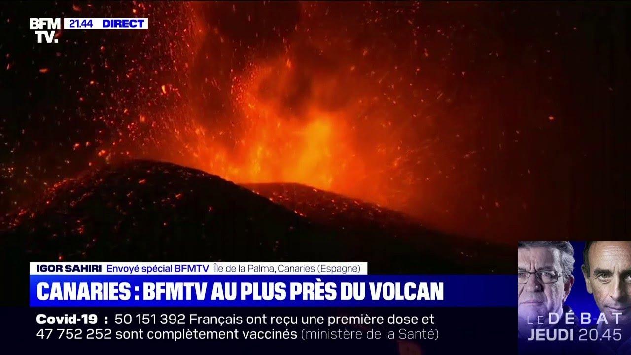Éruption aux Canaries: la lave coule lentement vers la mer, des gaz toxiques redoutés