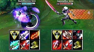 JAX vs FIORA FULL BUILD FIGHTS  Best Moments!