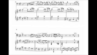 Beethoven - Cello Sonata No. 3 in A major, Op. 69; 1st Movement with Sheet Music